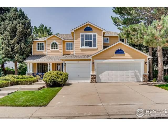 445 Zenith Ave, Lafayette, CO 80026 (MLS #947843) :: Find Colorado