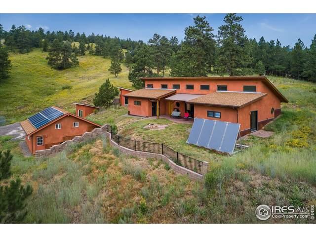 1111 Pika Rd, Boulder, CO 80302 (MLS #947937) :: Jenn Porter Group