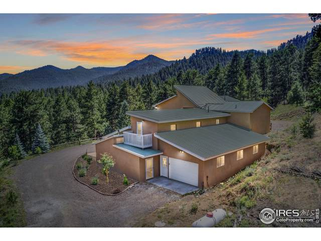 3901 Overland Rd, Jamestown, CO 80455 (MLS #948389) :: Downtown Real Estate Partners