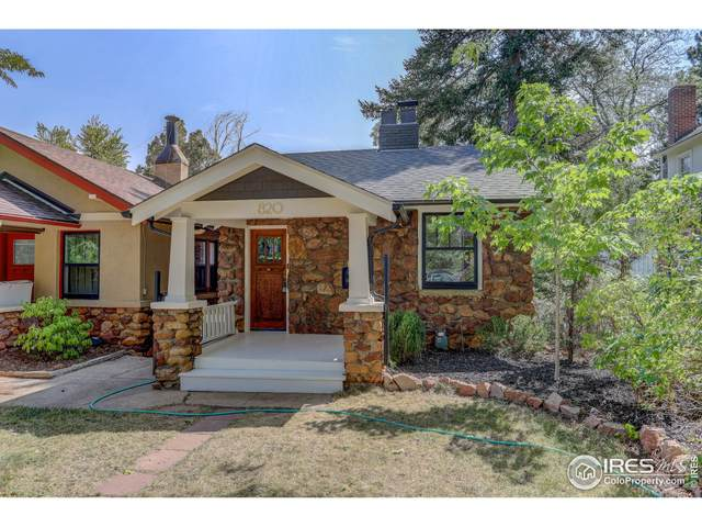 820 15th St, Boulder, CO 80302 (MLS #948987) :: Downtown Real Estate Partners