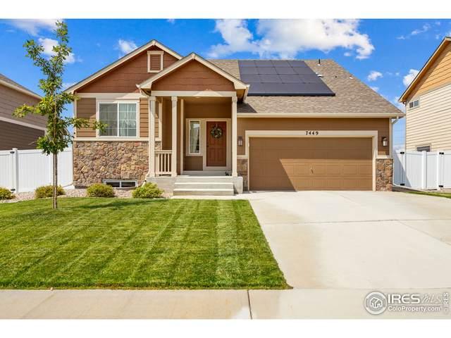 7449 Home Stretch Dr, Wellington, CO 80549 (#949305) :: Symbio Denver