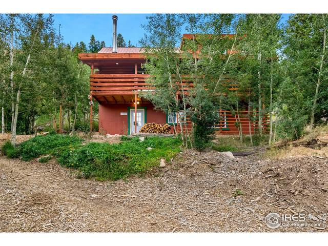 1100 Jicarilla Trl, Red Feather Lakes, CO 80545 (#949791) :: The Griffith Home Team