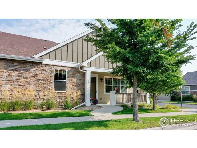 4751 Pleasant Oak Dr A-27, Fort Collins, CO 80525 (MLS #950223) :: Find Colorado