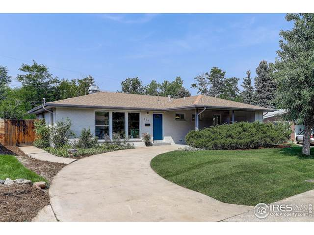 365 S 40th St, Boulder, CO 80305 (MLS #950535) :: RE/MAX Elevate Louisville