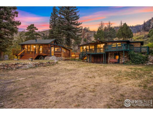 34606 Poudre Canyon Rd, Bellvue, CO 80512 (MLS #950664) :: Wheelhouse Realty