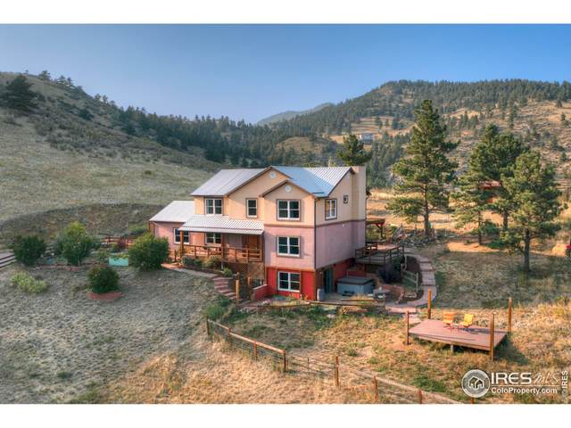 1653 Blue Mountain Trl, Lyons, CO 80540 (MLS #950871) :: You 1st Realty