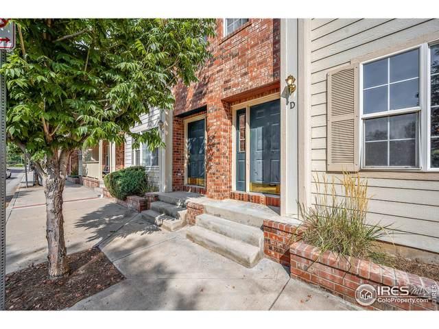 438 N Parkside Dr D, Longmont, CO 80501 (MLS #950933) :: Downtown Real Estate Partners