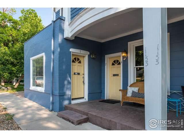 1153 Portland Pl #1, Boulder, CO 80304 (MLS #951164) :: Keller Williams Realty