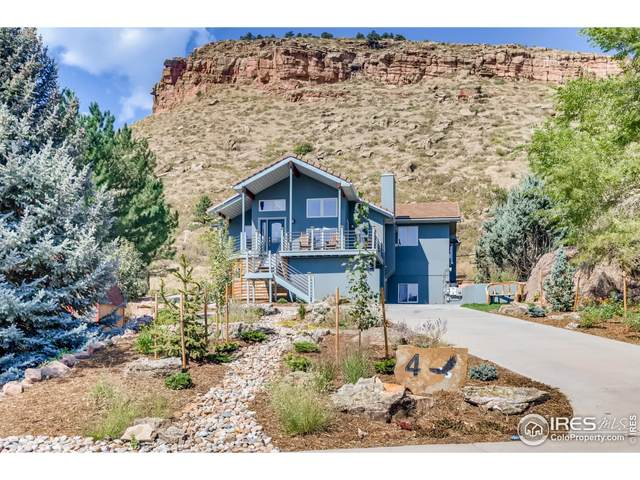4 Eagle Nest Ln, Lyons, CO 80540 (MLS #951182) :: Downtown Real Estate Partners