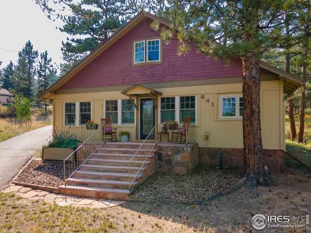 641 Chapin Ln, Estes Park, CO 80517 (MLS #951658) :: RE/MAX Alliance