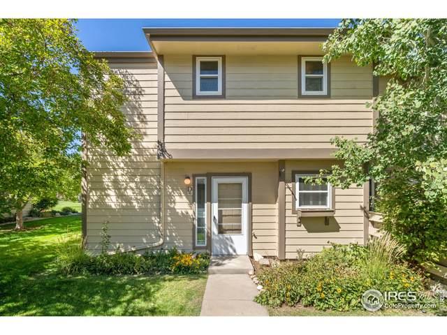 3465 Lochwood Dr D 16, Fort Collins, CO 80525 (MLS #951714) :: Find Colorado Real Estate