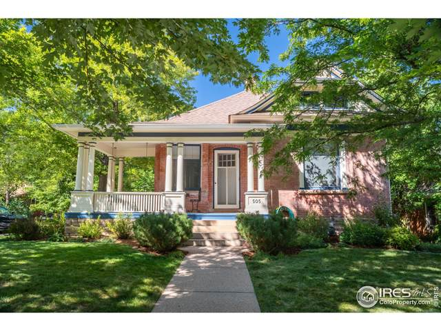 505 Maxwell Ave, Boulder, CO 80304 (MLS #951808) :: Coldwell Banker Plains