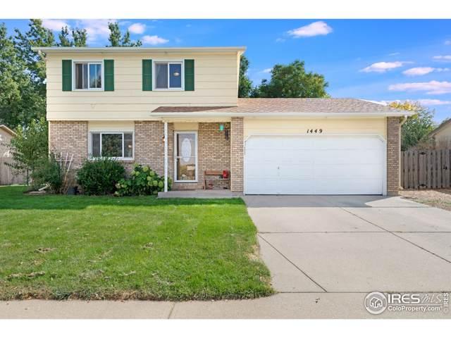 1449 Casa Grande Blvd, Fort Collins, CO 80526 (MLS #952331) :: Coldwell Banker Plains