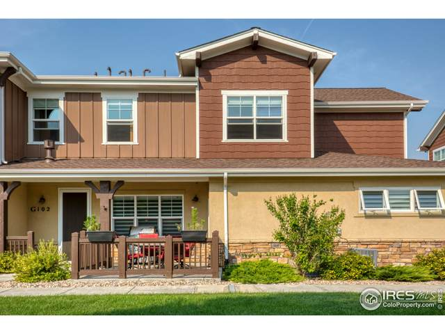 5851 Dripping Rock Ln G-102, Fort Collins, CO 80528 (MLS #952349) :: Tracy's Team
