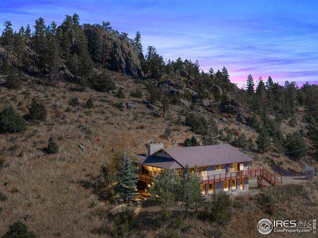 2148 Mcgraw Ranch Rd, Estes Park, CO 80517 (#952941) :: iHomes Colorado
