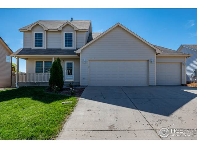 3108 Mariners Landing Dr, Evans, CO 80620 (#953123) :: The Griffith Home Team