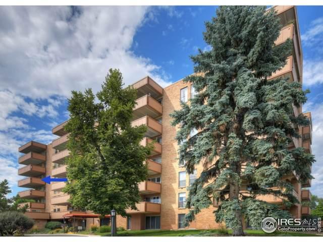 500 Mohawk Dr #406, Boulder, CO 80303 (MLS #953323) :: Jenn Porter Group