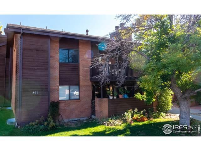 505 Manhattan Dr #201, Boulder, CO 80303 (MLS #953379) :: Jenn Porter Group