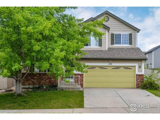 1339 Basseterre Pl, Fort Collins, CO 80525 (#953562) :: iHomes Colorado
