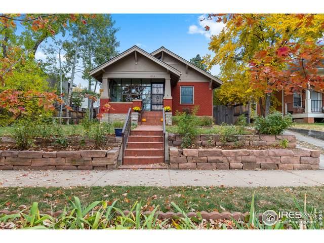 812 University Ave, Boulder, CO 80302 (MLS #953750) :: RE/MAX Alliance