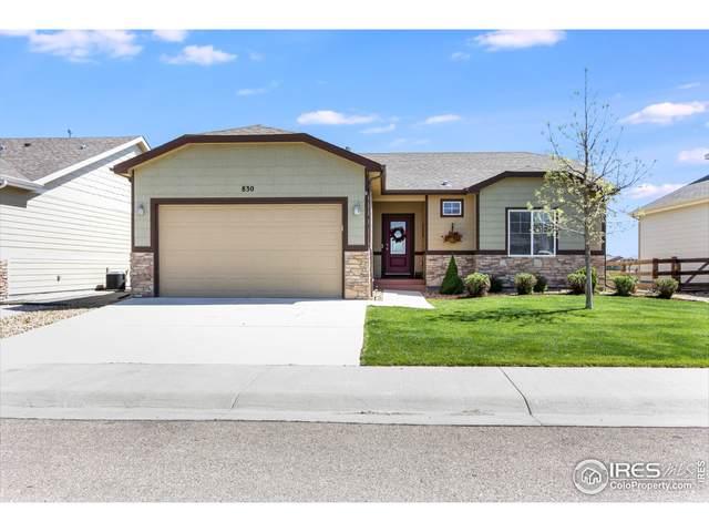 830 Village Dr, Milliken, CO 80543 (#954021) :: Compass Colorado Realty