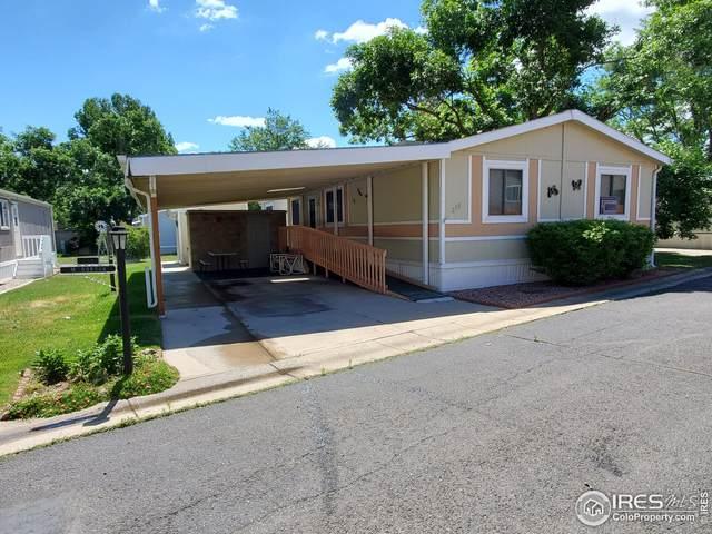 2211 W Mulberry St #258, Fort Collins, CO 80521 (MLS #4746) :: Stephanie Kolesar