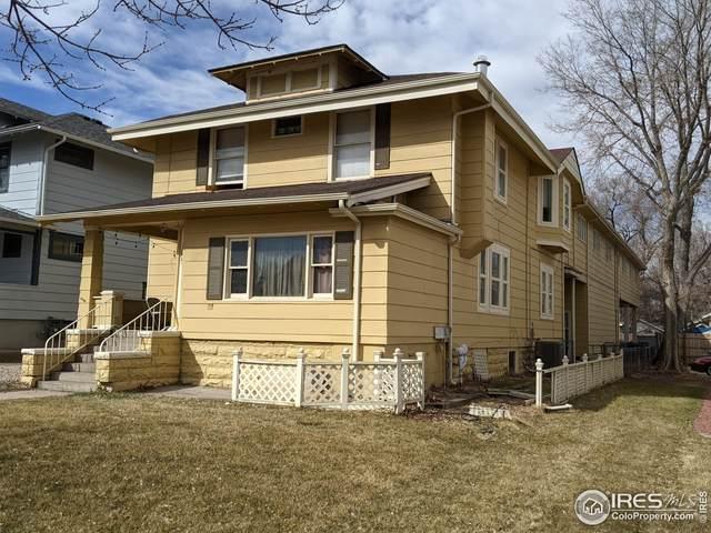 1605 11th Ave, Greeley, CO 80631 (MLS #936331) :: Jenn Porter Group