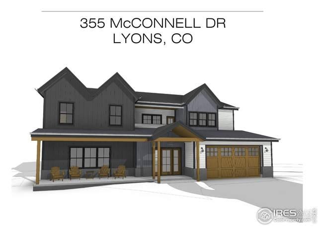 355 Mcconnell Dr, Lyons, CO 80540 (MLS #936841) :: Jenn Porter Group