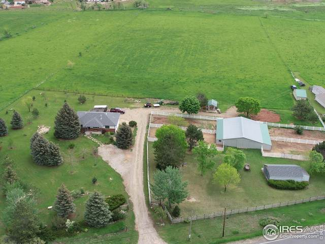 3232 N County Road 27, Loveland, CO 80538 (#943623) :: The Griffith Home Team
