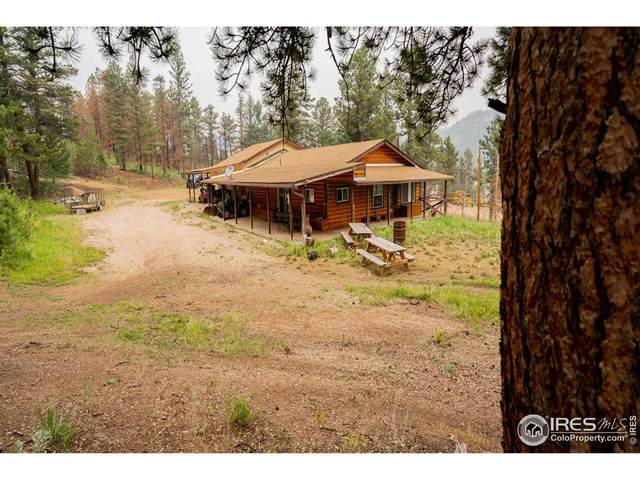 6081 W County Road 68C, Red Feather Lakes, CO 80545 (#949126) :: iHomes Colorado