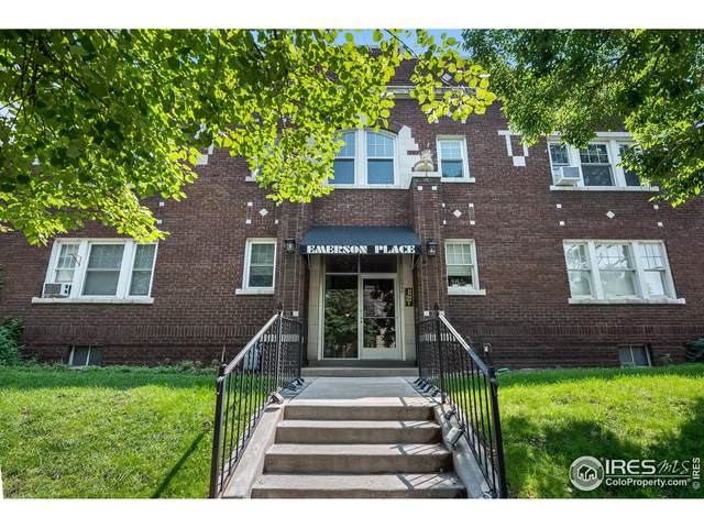 1340 N Emerson St #5, Denver, CO 80218 (MLS #949729) :: You 1st Realty