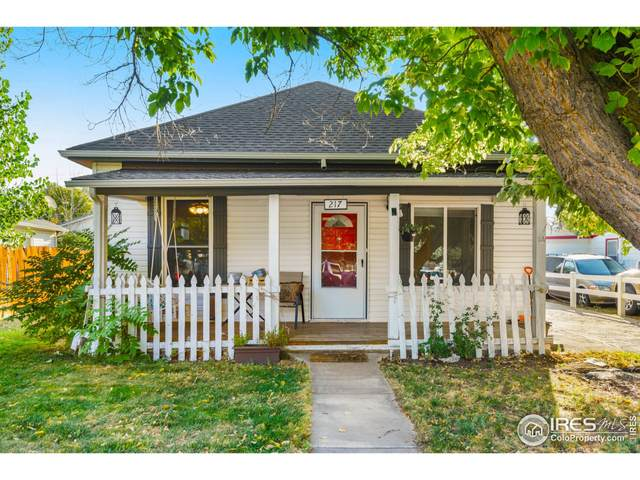 217 Park Ave, Eaton, CO 80615 (MLS #950028) :: Tracy's Team