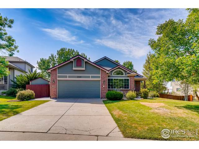 21625 Whirlaway Ave, Parker, CO 80138 (MLS #950649) :: Coldwell Banker Plains