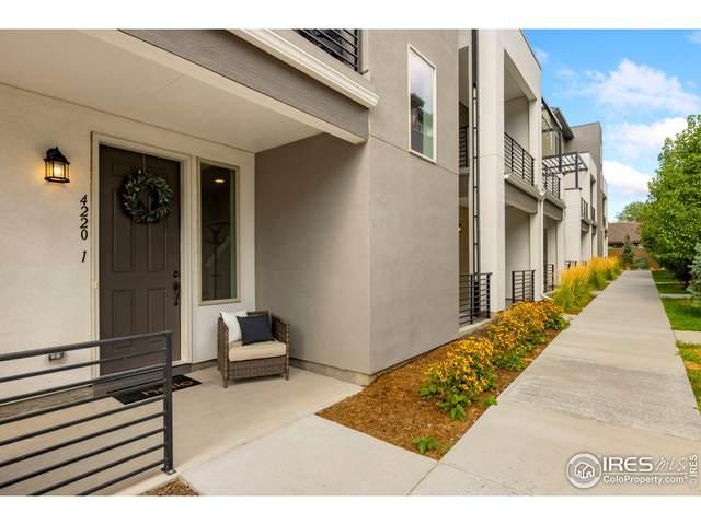4220 E Warren Ave #1, Denver, CO 80222 (#951136) :: James Crocker Team