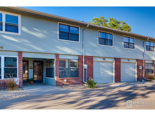 3405 W 16th St #72, Greeley, CO 80634 (MLS #951362) :: Find Colorado Real Estate