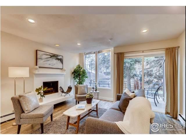 350 Arapahoe Ave #21, Boulder, CO 80302 (MLS #953197) :: Jenn Porter Group