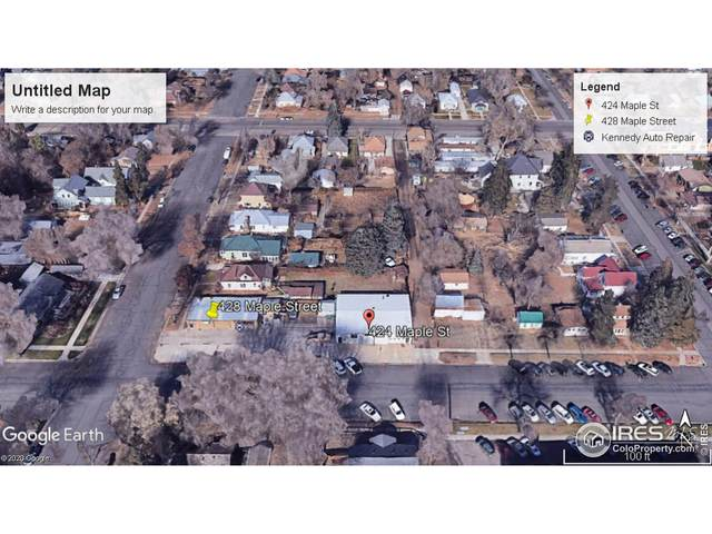 424 Maple St, Fort Collins, CO 80521 (#929485) :: The Griffith Home Team