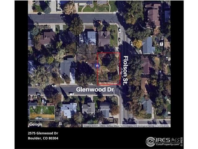 2575 Glenwood Dr, Boulder, CO 80304 (MLS #941430) :: Jenn Porter Group