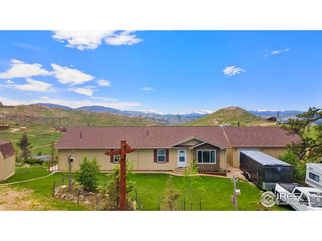 572 Horse Mountain Dr, Livermore, CO 80536 (MLS #946071) :: Bliss Realty Group