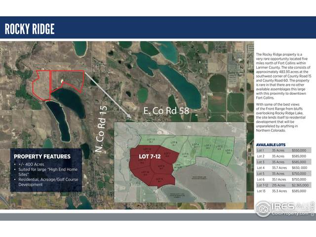 6221 N County Road 15 Parcels 6-12, Fort Collins, CO 80524 (MLS #950409) :: You 1st Realty