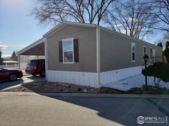 605 W 57th St #26, Loveland, CO 80538 (MLS #4223) :: Kittle Real Estate