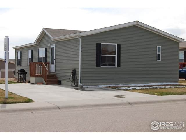 3000 Foxtail Ln #333, Evans, CO 80620 (#4266) :: Compass Colorado Realty