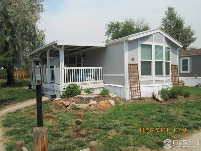 221 W 57th St B87, Loveland, CO 80538 (MLS #4407) :: Keller Williams Realty