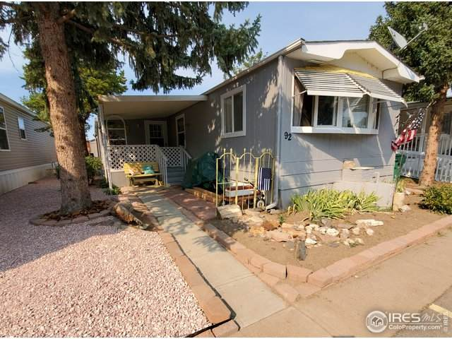 221 W 57th St #92A, Loveland, CO 80538 (MLS #4447) :: Wheelhouse Realty