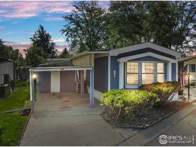 605 W 57th St #29, Loveland, CO 80538 (MLS #4735) :: Find Colorado