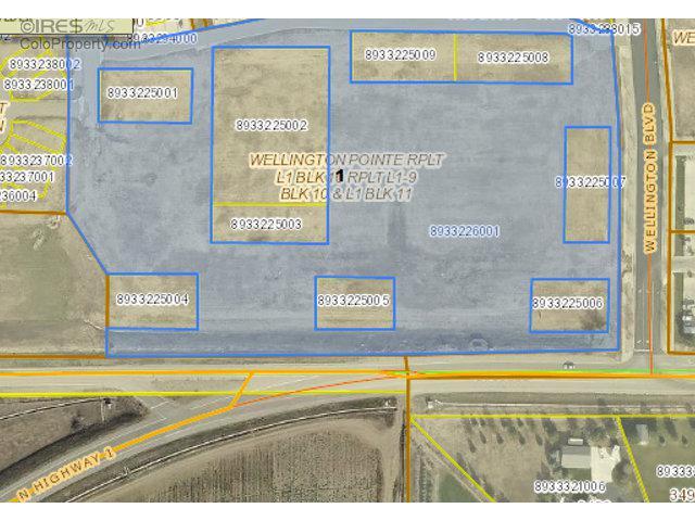 0 Cleveland Ave, Wellington, CO 80549 (MLS #766138) :: 8z Real Estate
