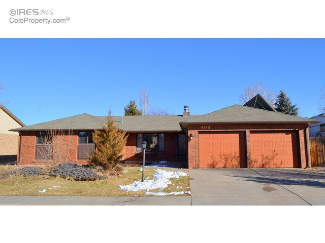 408 Kathryn Dr, Loveland, CO 80537 (#809838) :: The Peak Properties Group