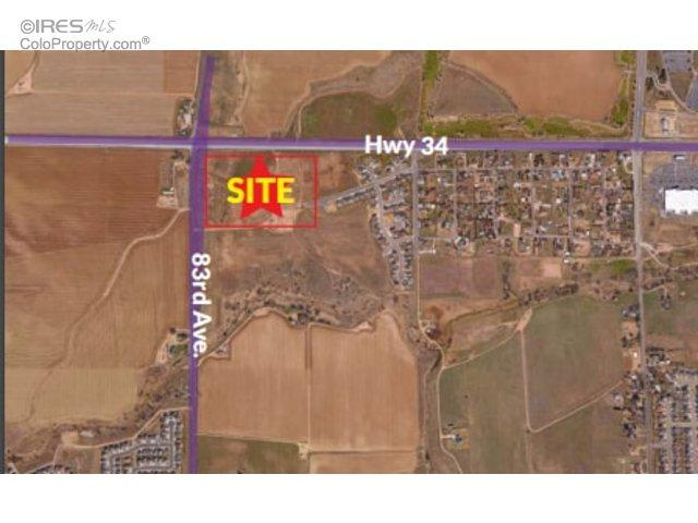 83rd Ave And Hwy 34, Greeley, CO 80634 (MLS #810949) :: 8z Real Estate
