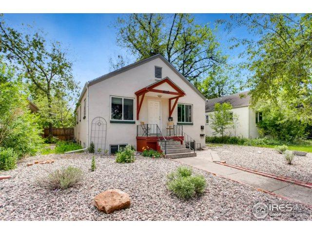 610 S Grant Ave, Fort Collins, CO 80521 (MLS #820630) :: 8z Real Estate