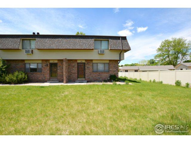 2701 19th St Dr #12, Greeley, CO 80634 (MLS #821279) :: 8z Real Estate